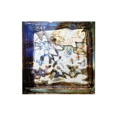Glass Flowers Abstract Designer Accents Tile