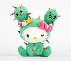 """tokidoki x Sanrio Characters 5"""" Mascot Plush"""