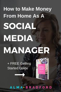 Want to become a social media manager and work from home. This article will show you how to get started so that you can work your own hours and have financial freedom.