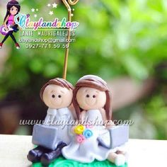 Wedding souvenir by @claylandshop  email add: claylandshop@gmail.com  SMS/VIBER: 0927.7715959  #wedding #souvenir #unique #cute #lovely #adorable #groom #bride #handmade #gift #giveaway #favor #party #clay #handcrafted #instacute #instamood #instagood #be Wedding Souvenir, Mood, Giveaways, Clay, Christmas Ornaments, Holiday Decor, Bride, Unique, Gift