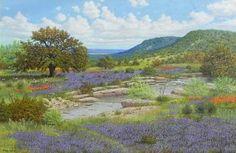 Manuel Garza Hill Country Rocky Creek - Southwest Gallery: Not Just Southwest…