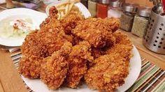 kfc csirke – Google Kereső Corn Flakes, Kfc, Grains, Food And Drink, Meat, Chicken, Vegetables, Youtube, Google