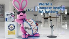 When we say Energizer Ultimate Lithium™ is the world's longest lasting AA battery, we mean it. And now we've got GUINNESS WORLD RECORDS™ to back us up.