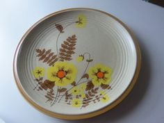 Retro   Mikasa    Nature's Song   Fernflower  by RigbysTrunk, $13.00