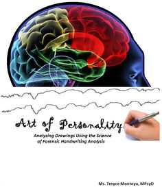 """""""Art of Personality: Analyzing Drawings Using the Science of Forensic Handwriting Analysis"""" -- using a system that I devised and have been using for 15 years, you can now analyze the drawings and doodles to assess for suicidal and homicidal thoughts and likelihood of follow through. www.TreyceMontoya.com"""