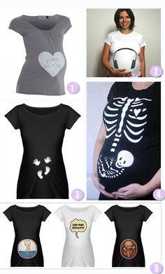 DIY.  Camisetas para lucir barriga.