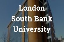 This is where I'm off to in August 2017 London South Bank University, Places, Lugares