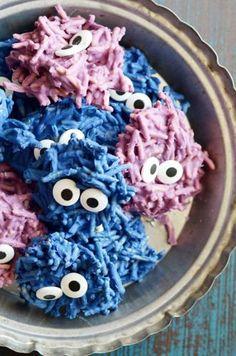 Hairy Monster Haystack Cookies