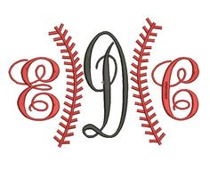 Instant Download Adjustable Threads Baseball by mysewcuteboutique, $2.99