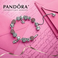 Cute Pandora Jewelry DIY. You can choose the beads that you like ,and DIY them!