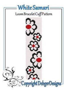 Loom Bracelet Patterns, Bead Loom Bracelets, Bead Loom Patterns, Beading Patterns, Cross Stitch Patterns, Cross Stitch Bookmarks, Cross Stitch Alphabet, Beading Techniques, Marque Page