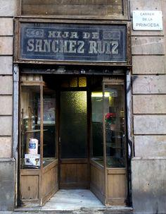 Tienda de la calle Princesa,  #Barcelona #Publicidad