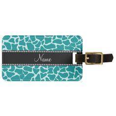=>>Cheap          	Personalized name turquoise giraffe pattern tag for luggage           	Personalized name turquoise giraffe pattern tag for luggage so please read the important details before your purchasing anyway here is the best buyReview          	Personalized name turquoise giraffe patt...Cleck Hot Deals >>> http://www.zazzle.com/personalized_name_turquoise_giraffe_pattern_luggage_tag-256212996136560156?rf=238627982471231924&zbar=1&tc=terrest