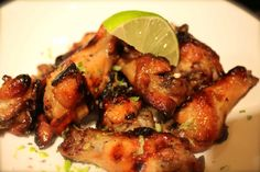 Baked Honey-Lime Chicken Wings