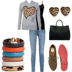 """Cheetah Power"" by keranique on Polyvore"