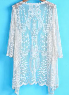 Such a beautiful top, great for summer evenings with a dress.
