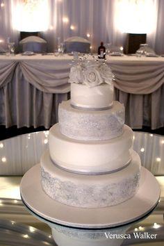 4 tiers cake wedding cake by Verusca.deviantart.com on @deviantART