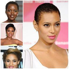 Top 7 cortes de cabelo curtos de mulheres afro-americanas - http://bompenteados.com/2016/07/26/top-7-cortes-de-cabelo-curtos-de-mulheres-afro-americanas.html