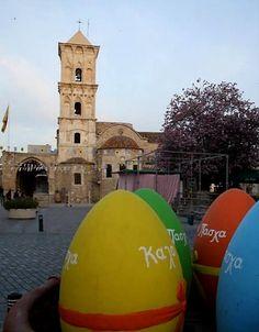 Easter in Larnaca, Cyprus