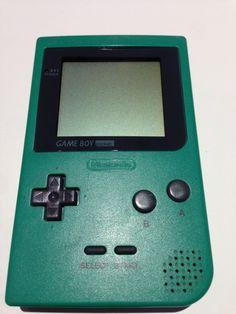 Console GameBoy Pocket Vert/Green (1996)