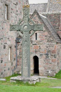 Celtic Cross, Iona, Scotland
