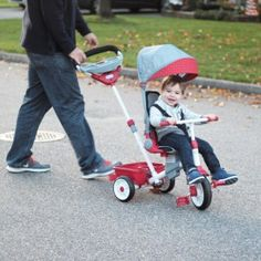 Little Tikes Tricycle Review & #GIVEAWAY - Win 1 of 2 Trikes from @littletikes