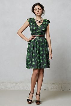 Tropica Orchard Dress #anthropologie