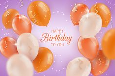 Birthday background with balloons Free Vector Happy Birthday Icons, Happy Birthday For Him, First Birthday Cards, Birthday Gifts For Boys, Happy Birthday Images, Birthday Pictures, Birthday Greeting Cards, Birthday Wishes, Birthday Stuff