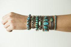 More Vintage Jewelry - Whispering Pines Catalog-turquoise bracelets!