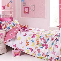 Kids Bright Butterflies Duvet Cover Set | Dunelm