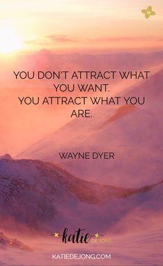 Tu NÃO ATRAIS aquilo que queres... Tu ATRAIS aquilo que ÉS!