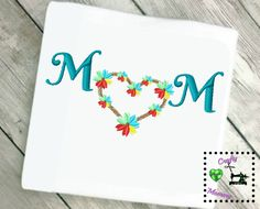 Flower Embroidery Design - Feather Embroidery Design - Mothers Day Embroidery Design - Vacation Embroidery Design - Mom Embroidery Design by CraftyHooahMommy on Etsy