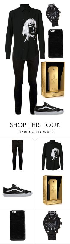 """Saturday night B-ollente"" by nena69 ❤ liked on Polyvore featuring Topman, Yohji Yamamoto, Vans, Paco Rabanne, Maison Margiela, 21 Men, men's fashion and menswear"