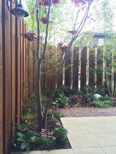目隠しフェンスよりかっこいい庭|佐賀の外構・エクステリア・ガーデニング|花水木コーポレーション