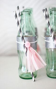 DIY fancy pretty coke bottles