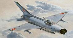 Trumpeter Mig-21/F-13/J-7 Fighter Aircraft -- Plastic Model Airplane Kit -- 1/48 Scale -- #2858