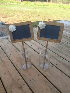 Rustic Wedding Chalkboard Sign – Rustic Wedding Decor – Wedding Table Number – C | How Do It Info