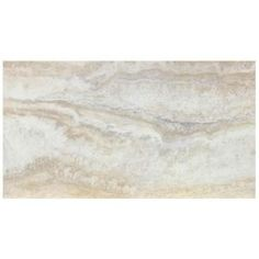 TrafficMASTER 12 in. x 24 in. Light Grey Travertine Peel and Stick Vinyl Tile Flooring (20 sq. ft. / case) 221924U at The Home Depot - Mobile