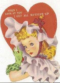 Ruffle them vintage Valentine, shared by neshachan on Flickr.
