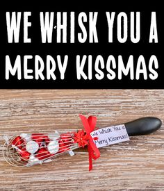 Christmas Gift Ideas for Women & Mothers - DIY 'We Whisk You a Merry Kissmas' Gift + HUGE list of fun foodie gifts for the bakers and cookes on your list! Go check some more gifts off your list with these fun ideas... Gifts For Your Boyfriend, Gifts For Him, Gifts For Women, Cool Gifts, Best Gifts, Merry Kissmas, Fun Ideas, Gift Ideas, Diy Christmas Gifts