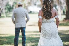 Lace Strapless Mermaid Wedding Dress by Ines Di Santo.  Lyndsey Garber Photography