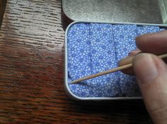 Found! Perfect stud earring storage tutorial. :)