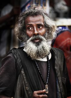 Holy Saint - Old Delhi, India