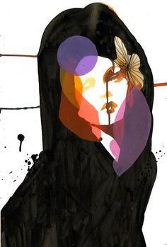 Salvatore Ferragamo y las ilustraciones de Stina Persson! Watercolor Art Face, Watercolor Paintings, Stina Persson, Collage Kunst, Art Techniques, Cute Art, Art Inspo, Fashion Art, Illustration Art