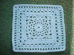 Cygnus Square pattern by Chris Simon – crochet motifs out the wazzooo – Flower Crochet Squares Afghan, Granny Square Crochet Pattern, Crochet Blocks, Granny Square Blanket, Crochet Granny, Crochet Motif, Diy Crochet, Crochet Crafts, Crochet Flowers