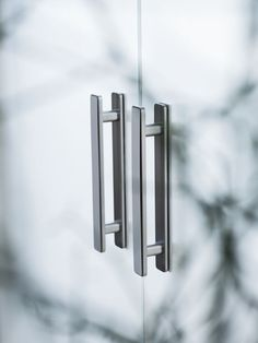 R8 Pull handles for #glass #sliding doors by Griff Werk