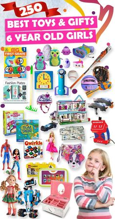 Tons Of Great Gift Ideas For 6 Year Old Girls 5 Christmas Gifts