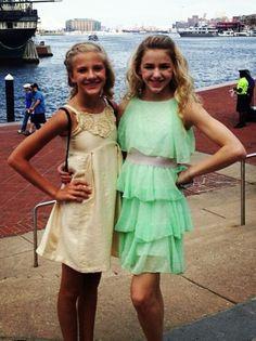 Paige Hyland and Chloe Lukasiak