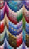 Photo of Large-Scale Bargello Design #4.