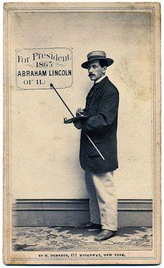 For President: Abraham Lincoln